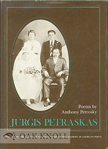 9780807110928: Jurgis Petraskas: Poems (Walt Whitman Award of the Academy of American Poets)
