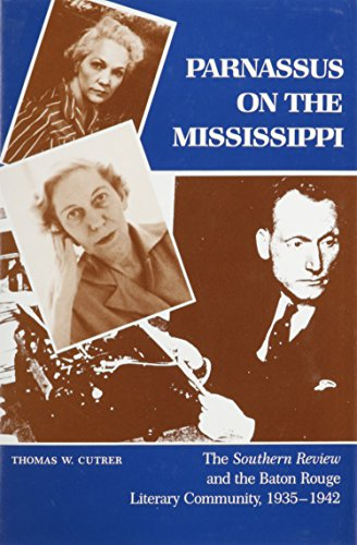 Parnassus on the Mississippi (Hardcover): Thomas W. Cutrer