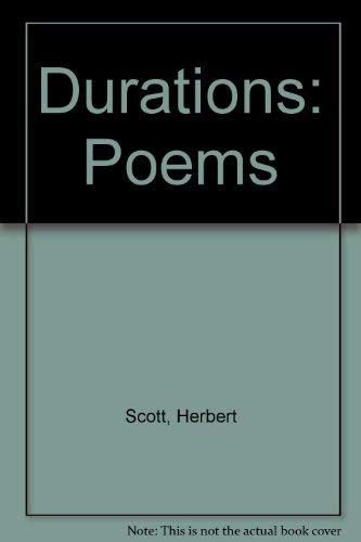 9780807111505: Durations: Poems