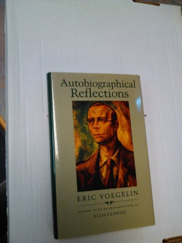 9780807115152: Autobiographical Reflections
