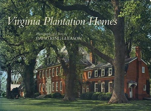 9780807115701: Virginia Plantation Homes [Idioma Inglés]