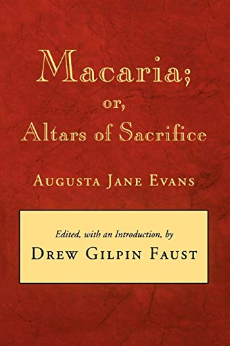 9780807116623: Macaria: or, Altars of Sacrifice (Library of Southern Civilization)