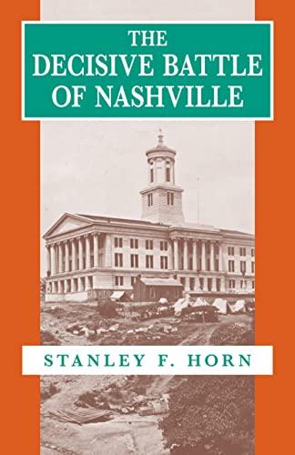 9780807117095: The Decisive Battle of Nashville