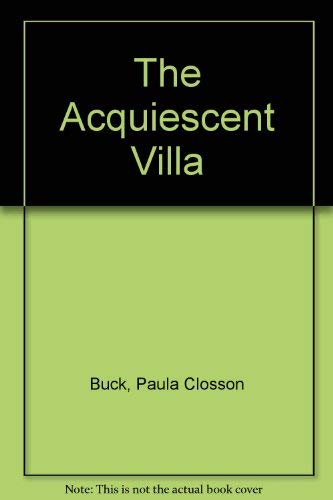 The Acquiescent Villa: Poems