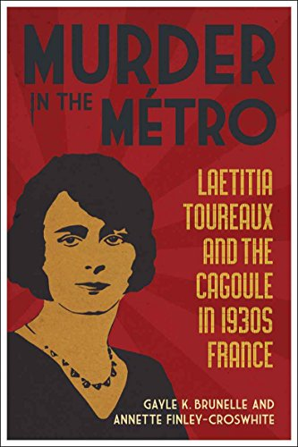 9780807136164: Murder in the Metro: Laetitia Toureaux and the Cagoule in 1930s France