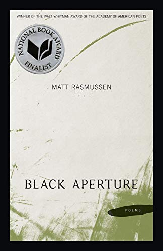 9780807150863: Black Aperture: Poems (Walt Whitman Award of the Academy of American Poets)