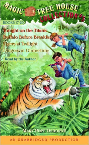 9780807208045: Magic Tree House Collection Volume 5: Books 17-20: #17 Tonight on the Titanic; #18 Buffalo Before Breakfast; #19 Tigers at Twilight; #20 Dingoes at Dinnertime