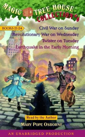 9780807209134: Magic Tree House Collection 6 Books 21-24: Civil War on Sunday/Revolutionary War on Wednesday/Twister on Tuesday/Earthquake in the Early Morning