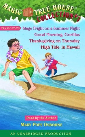 9780807211700: Magic Tree House Collection Volume 7: Books 25-28: #25 Stage Fright on a Summer Night; #26 Good Morning, Gorillas; #27 Thanksgiving on Thursday; #28 High Tide in Hawaii
