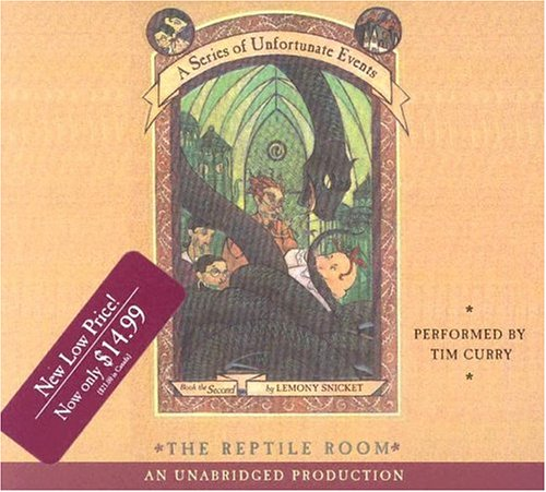 9780807219911: The Reptile Room (A Series of Unfortunate Events, Book 2)