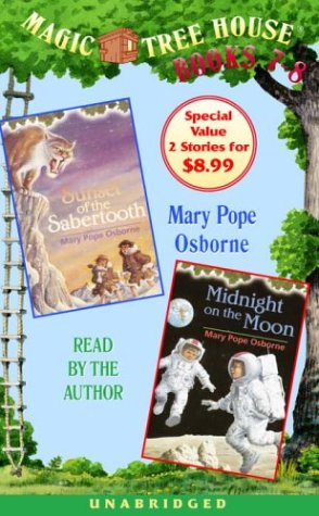 9780807220269: Magic Tree House Books 7-8: Sunset of the Sabertooth/Midnight on the Moon