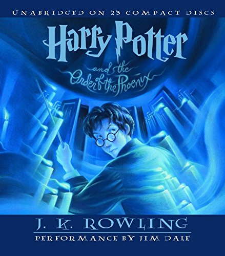 Harry Potter and the Order of the Phoenix: J K Rowling