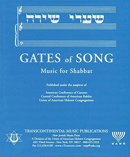 9780807404072: Gates of Song (Shaarei Shirah): Music for Shabbat