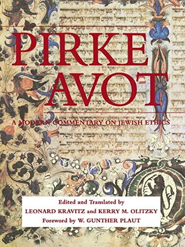 9780807404805: Pirke Avot: A Modern Commentary on Jewish Ethics (Modern Commentary On) (English, Hebrew and Hebrew Edition)