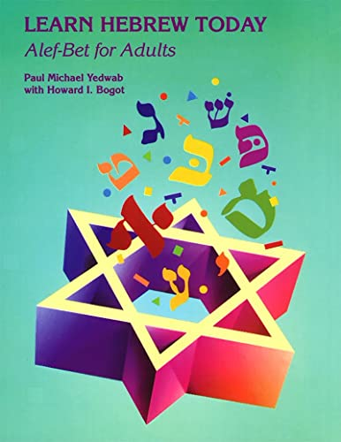 9780807404836: Learn Hebrew Today: Alef-Bet for Adults (English and Hebrew Edition)