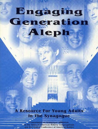 9780807406410: Engaging Generation Aleph: A Resource for Young Adults in the Synagogue