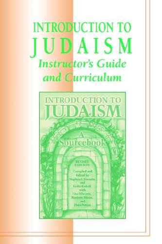 9780807406519: Introduction to Judaism: Instructor's Guide and Curriculum