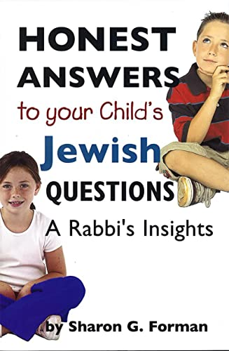 9780807409442: Honest Answers to Your Child's Jewish Questions
