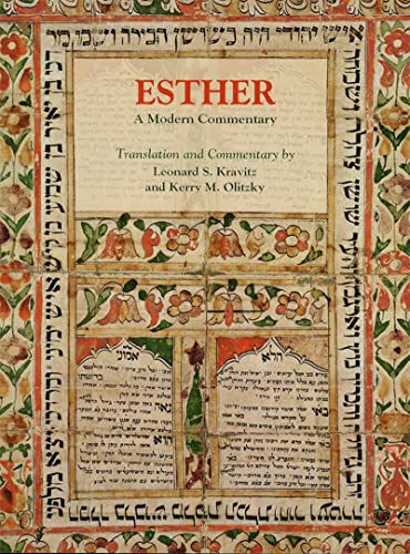 9780807411391: Esther: A Modern Commentary (English and Hebrew Edition)