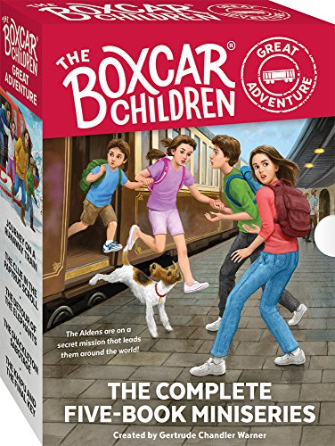 Boxcar Children Book Cover ~ The boxcar children great adventure book set albert