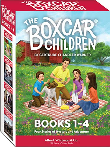 9780807508541: The Boxcar Children Mysteries: The Boxcar Children, Surprise Island, the Yellow House Mystery, & Mystery Ranch
