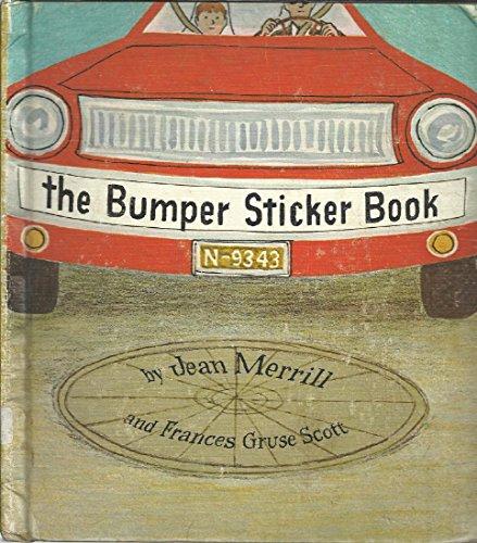 The Bumper Sticker Book: Merrill, Jean &
