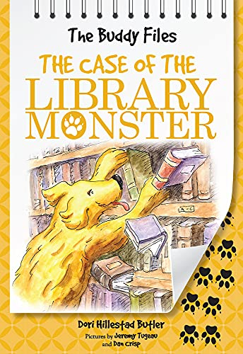 9780807509364: The Buddy Files: The Case of the Library Monster (Book 5)