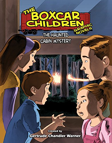 9780807531808: The Haunted Cabin Mystery (The Boxcar Children Graphic Novels)