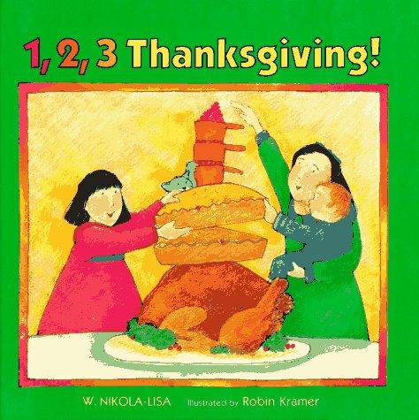 9780807561102: 1, 2, 3, Thanksgiving