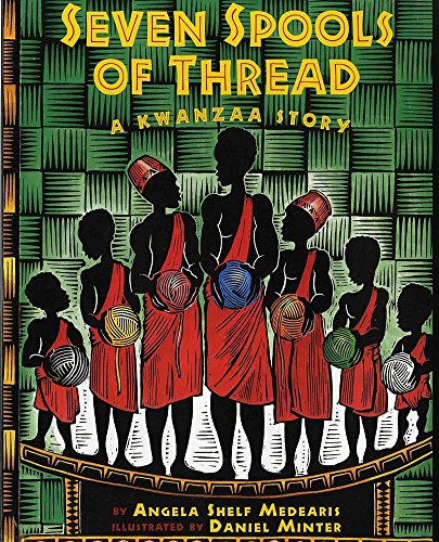 9780807573167: Seven Spools of Thread: A Kwanzaa Story (Albert Whitman Prairie Paperback)