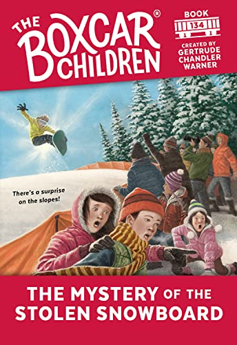 9780807587294: The Mystery of the Stolen Snowboard (The Boxcar Children Mysteries)