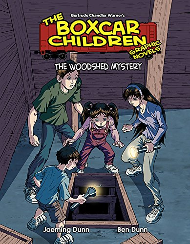 9780807592083: The Woodshed Mystery (The Boxcar Children Graphic Novels)