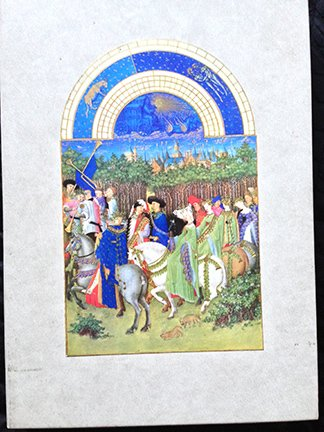 Tres Riches Heures of Jean, Duke of Berry (English and French Edition) (0807605123) by Millard Meiss