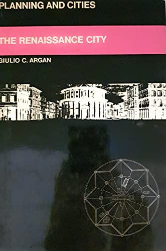 9780807605172: Renaissance City (Planning & Cities)