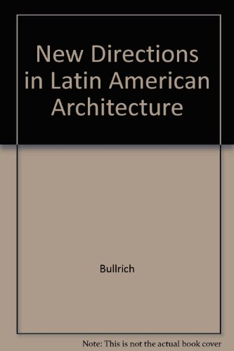9780807605288: New Directions in Latin American Architecture