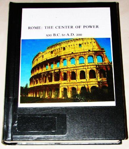 Rome: The Center of Power: Bandinelli,Ranuccio