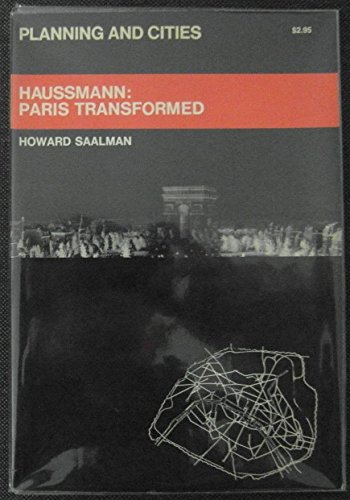 9780807605820: Haussmann: Paris transformed (Planning and Cities)