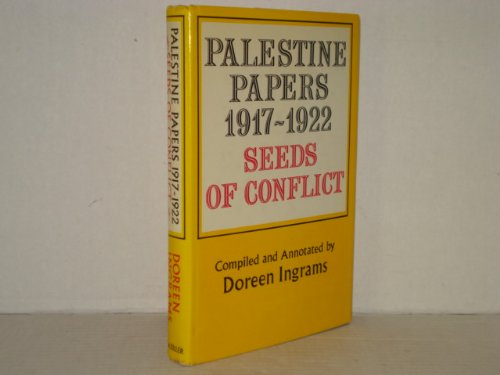 Palestine Papers, 1917-1922, Seeds of Conflict: Doreen Ingrams