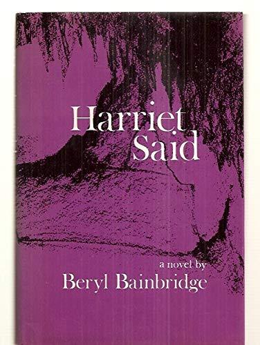 9780807606872: Harriet said