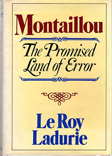9780807608753: Montaillou: The Promised Land of Error