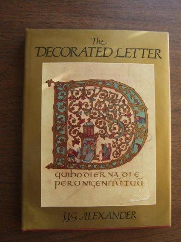 The Decorated Letter: Alexander, Jonathan James Graham