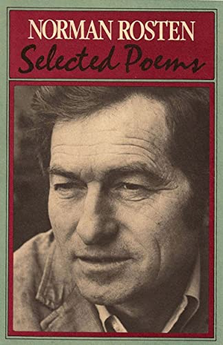 Selected Poems (0807609307) by Norman Rosten