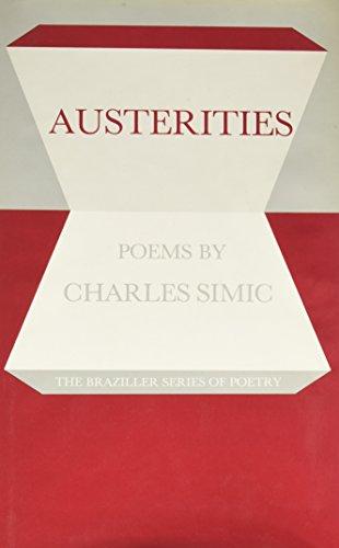 9780807610435: Austerities: Poems