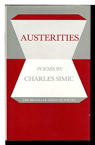 9780807610442: Austerities: Poems
