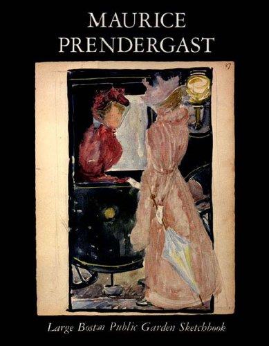 Maurice Prendergast: Large Boston Public Garden Sketchbook.: PRENDERGAST, Maurice.