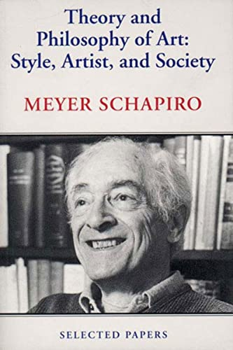 9780807613573: Theory and Philosophy of Art: Style, Artist, and Society