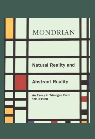 9780807613726: Natural Reality and Abstract Reality: An Essay in Trailogue Form (1919-1920)