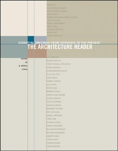 9780807615799: Architecture Reader: Essential Writings from Vitruvius to the Present