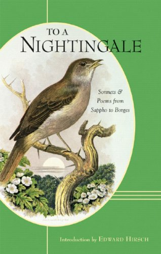 9780807615874: To a Nightingale: Sonnets and Poems from Sappho to Borges