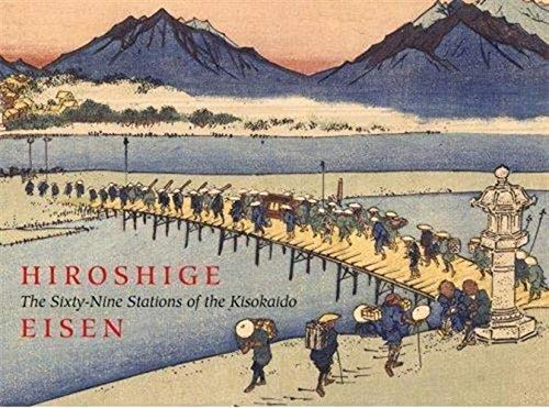 Hiroshige: Sixty-nine Stations of the Kisokaido (Hardback): Sebastian Izzard